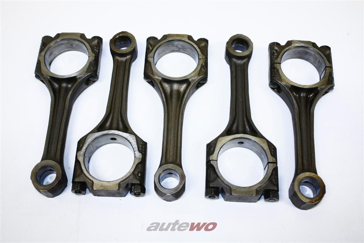 Audi S2/Urquattro 20V 2.2l 5 Zylinder 3B/RR Satz Pleuel 5 Stück 027198401C