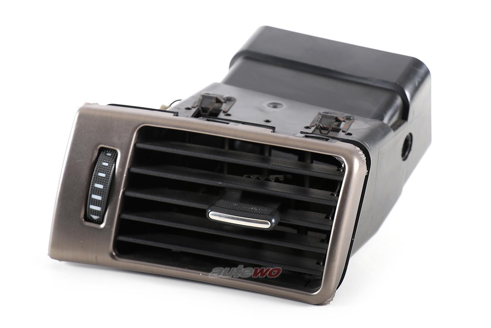4B1820901K Audi A6 4B Luftdüse Armaturenbrett Links grau