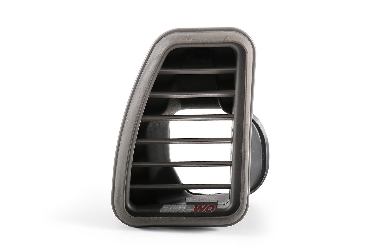 4D0857481 Audi A8/S8 D2 Rechts Luftdüse Armaturenbrett Links grau