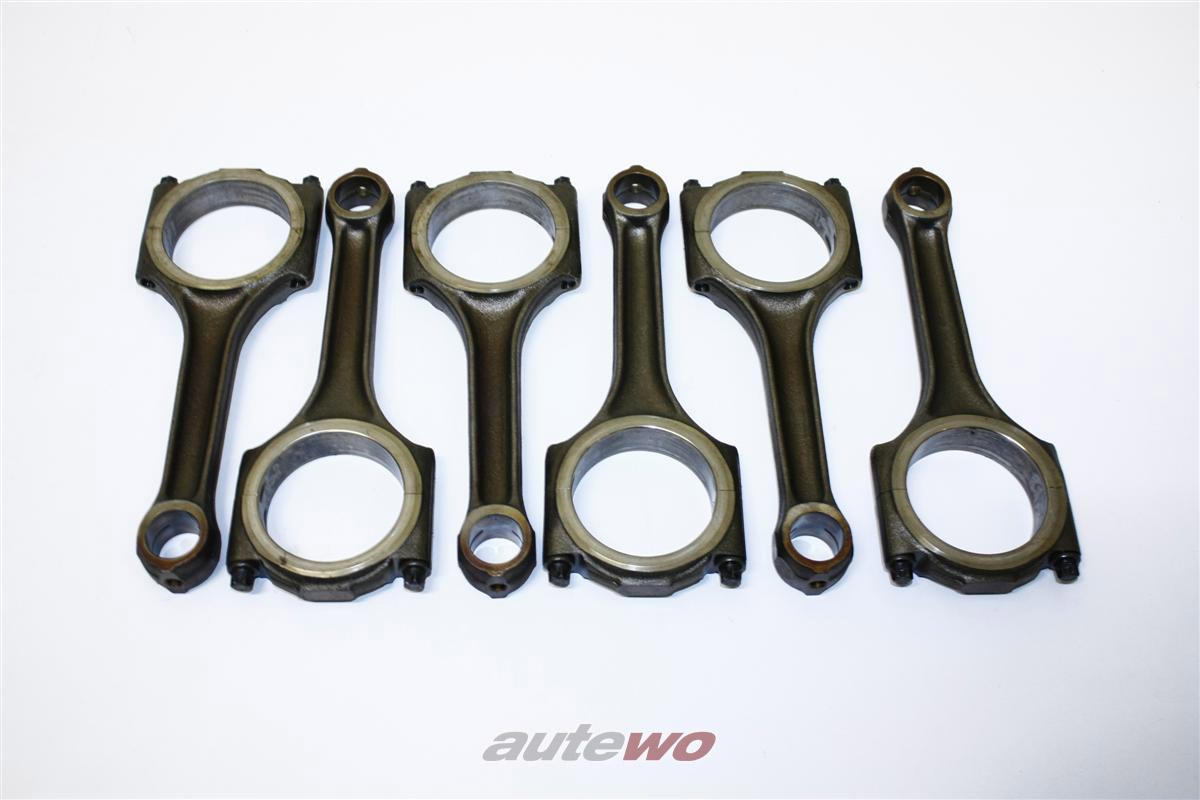 Audi 80/100/A4/A6/A8 2.6-2.8l 6 Zylinder ABC/AAH Satz Pleuel 6 Stück 078198401C