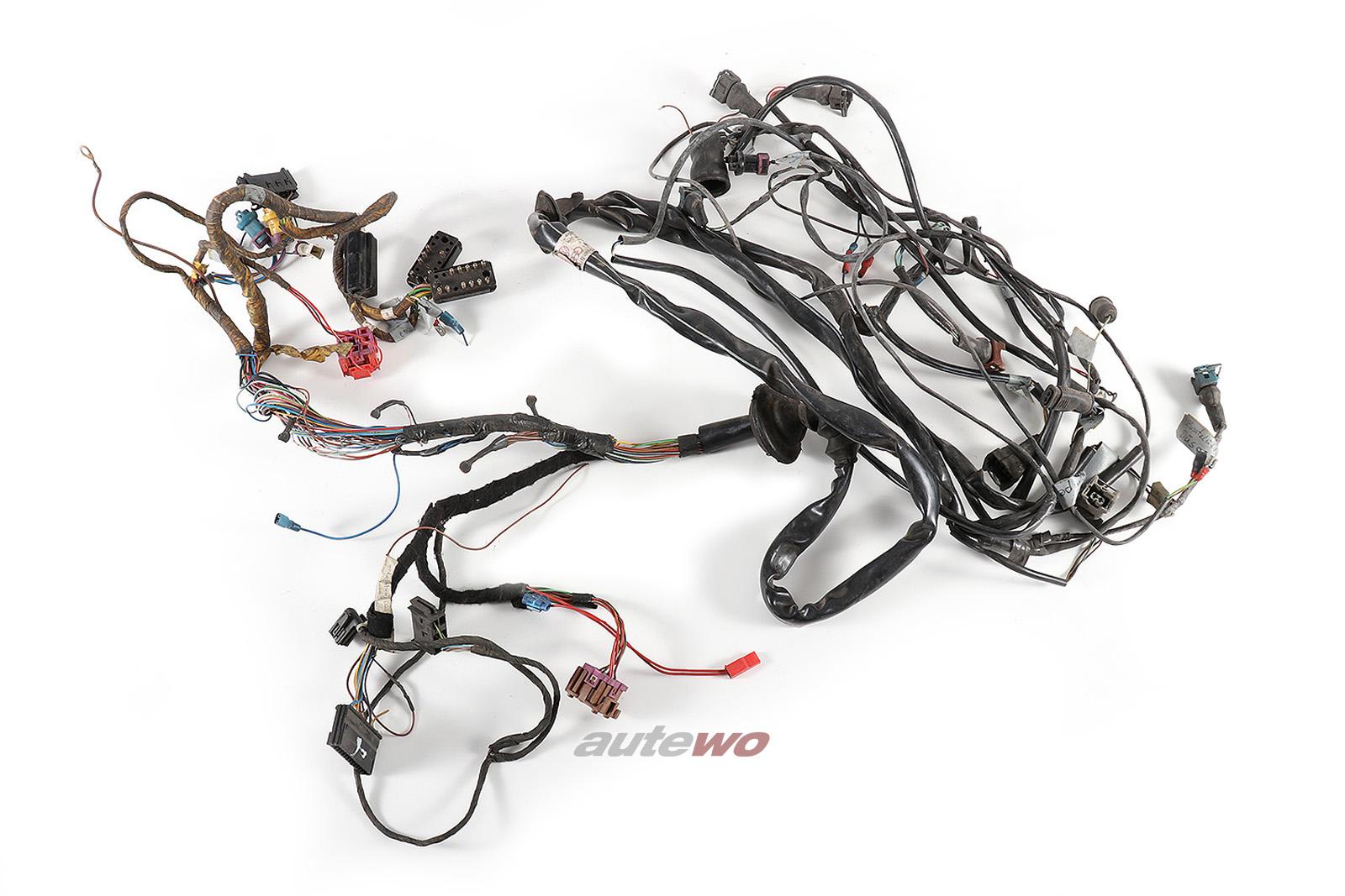 447971072BS Audi 200 Typ 44 2.2l 5 Zylinder 10V Turbo KG/JY Motorkabelbaum
