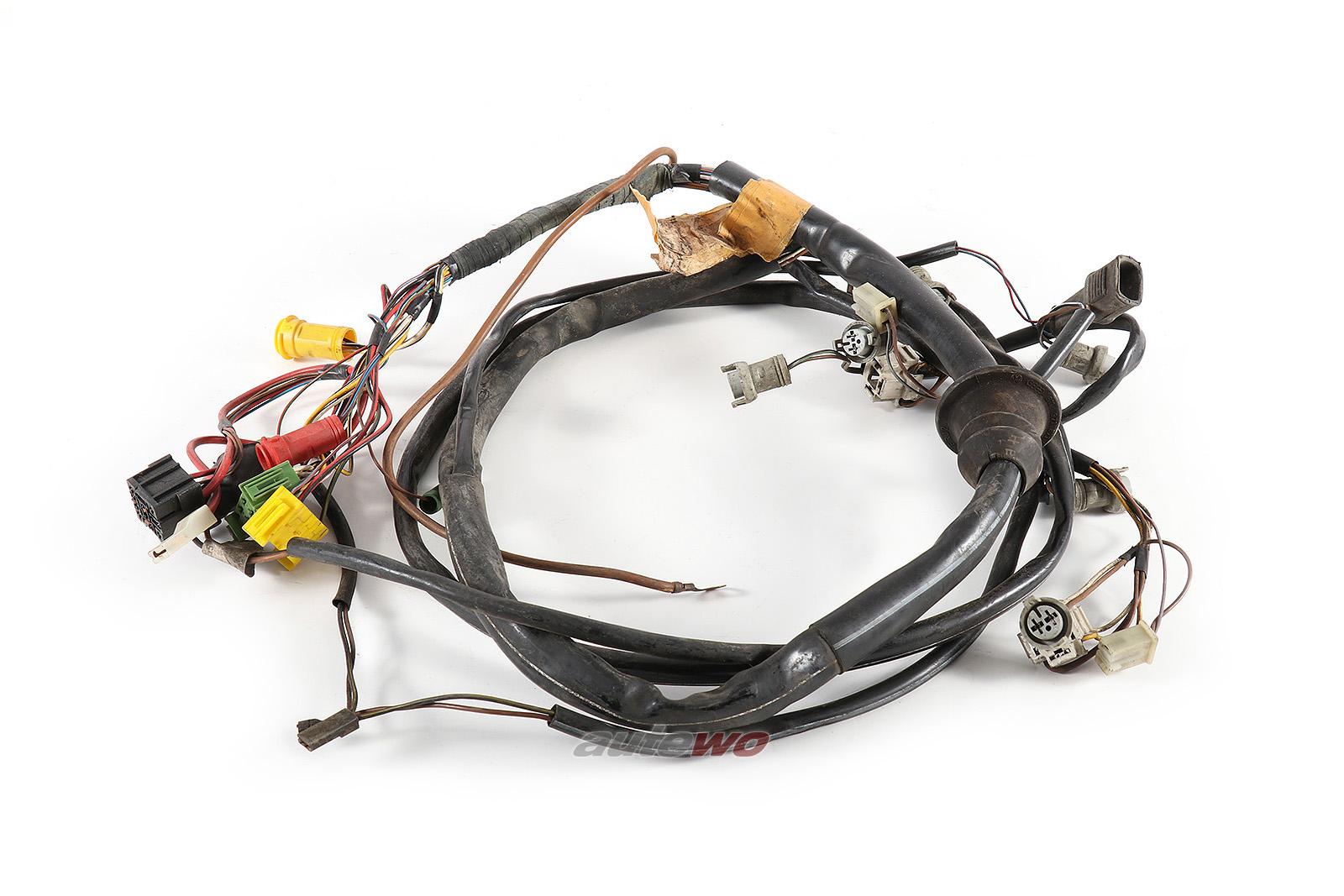 812971071Q Audi 80/90/Coupe Typ 81/85 5 Zylinder Kabelbaum Beleuchtung Vorne