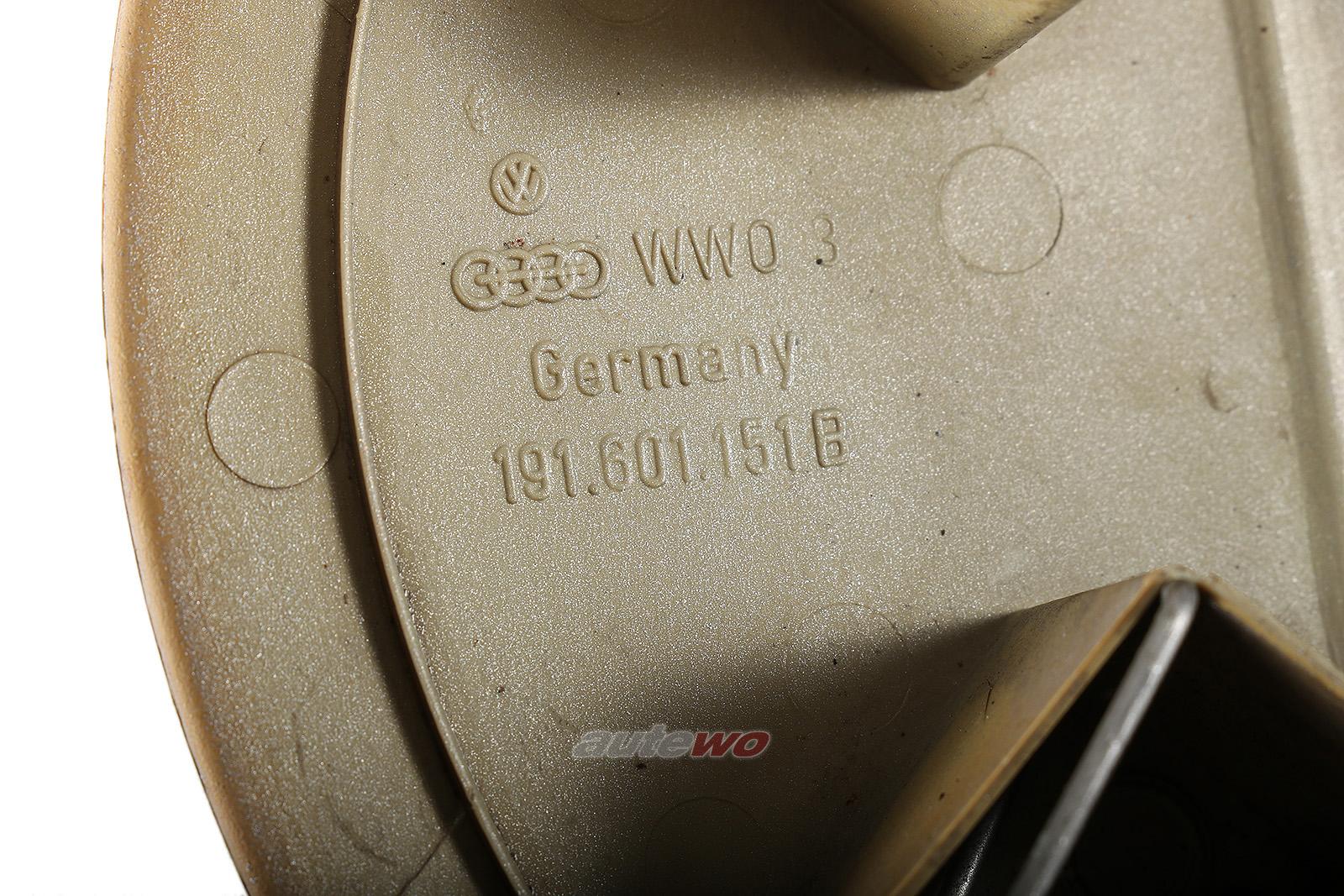 191601151B VW Golf 2/Jetta/Polo/Passat 32B/Scirocco Nabenabdeckung original