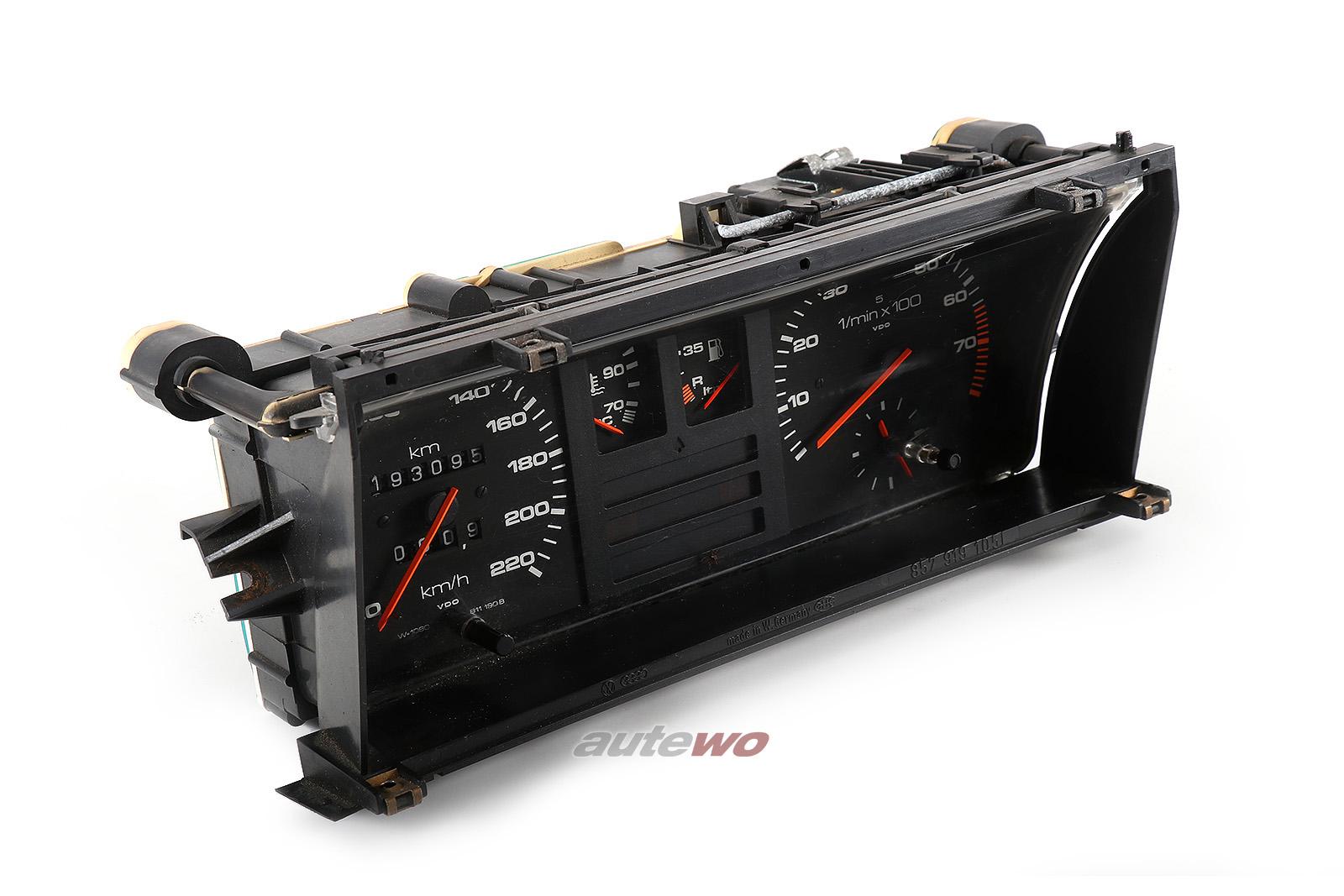 811190B Audi 90/Coupe Typ 81/85 5 Zylinder Kombiinstrument Drehzahlmesser