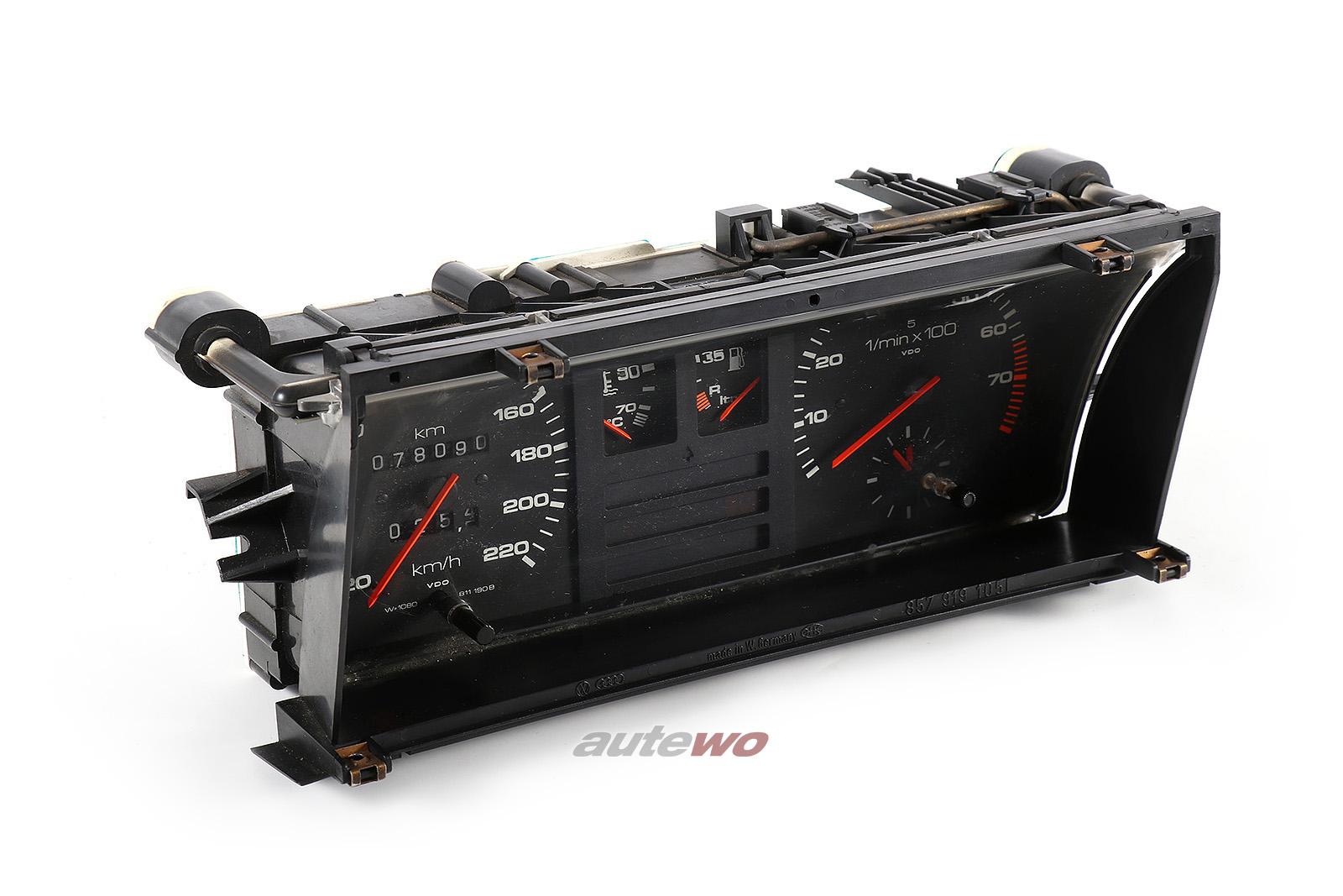 811190B Audi 90/Coupe Typ 81/85 5 Zylinder Kombiinstrument