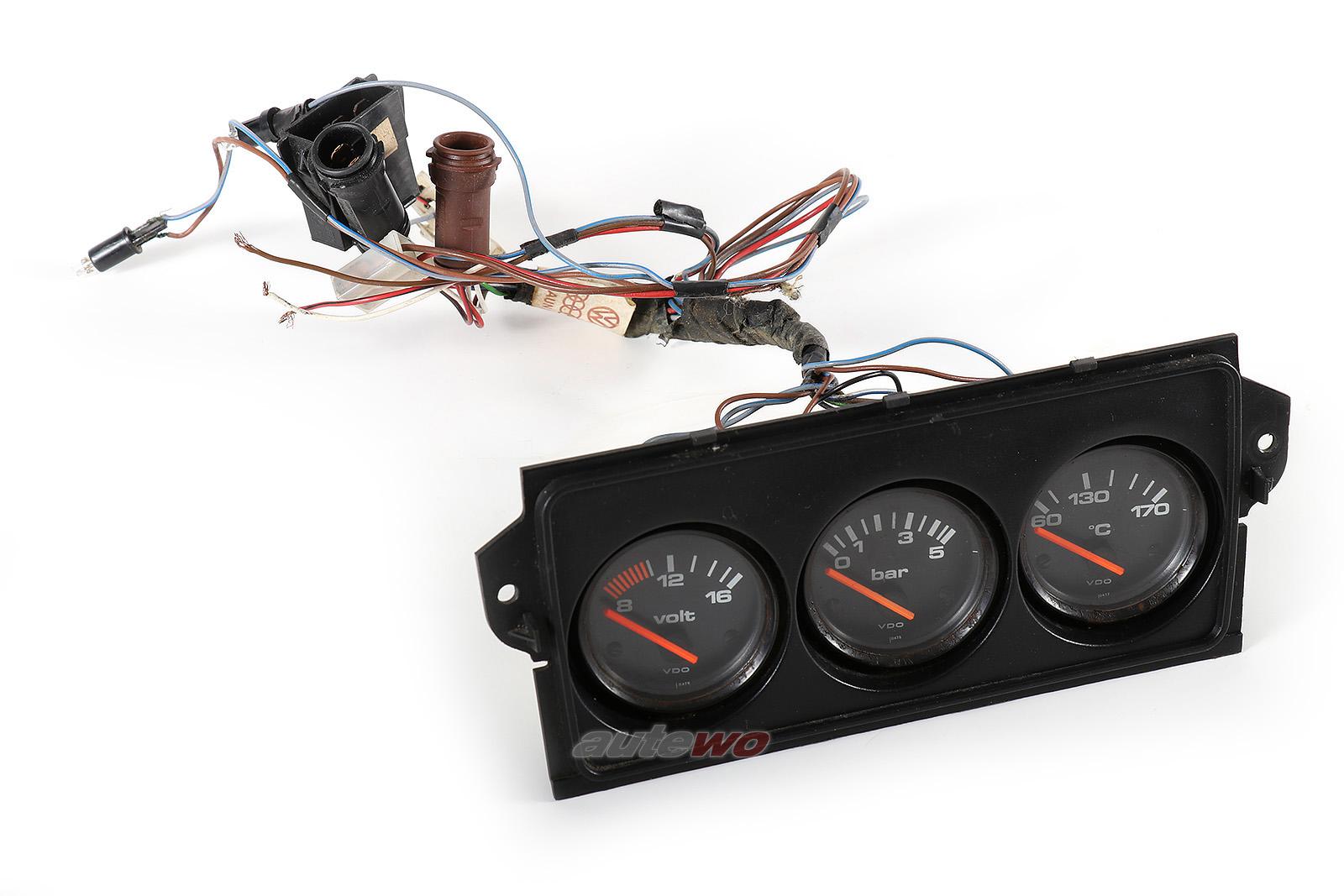 811919531C/811919551A/811919541C/811863321E Audi 80 GTE 81/85 Zusatzinstrumente