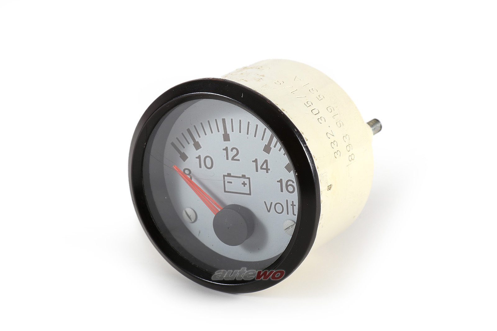 893919531A Audi S2 B4/Coupe Typ 89 2.2l Rundinstrument Voltmeter