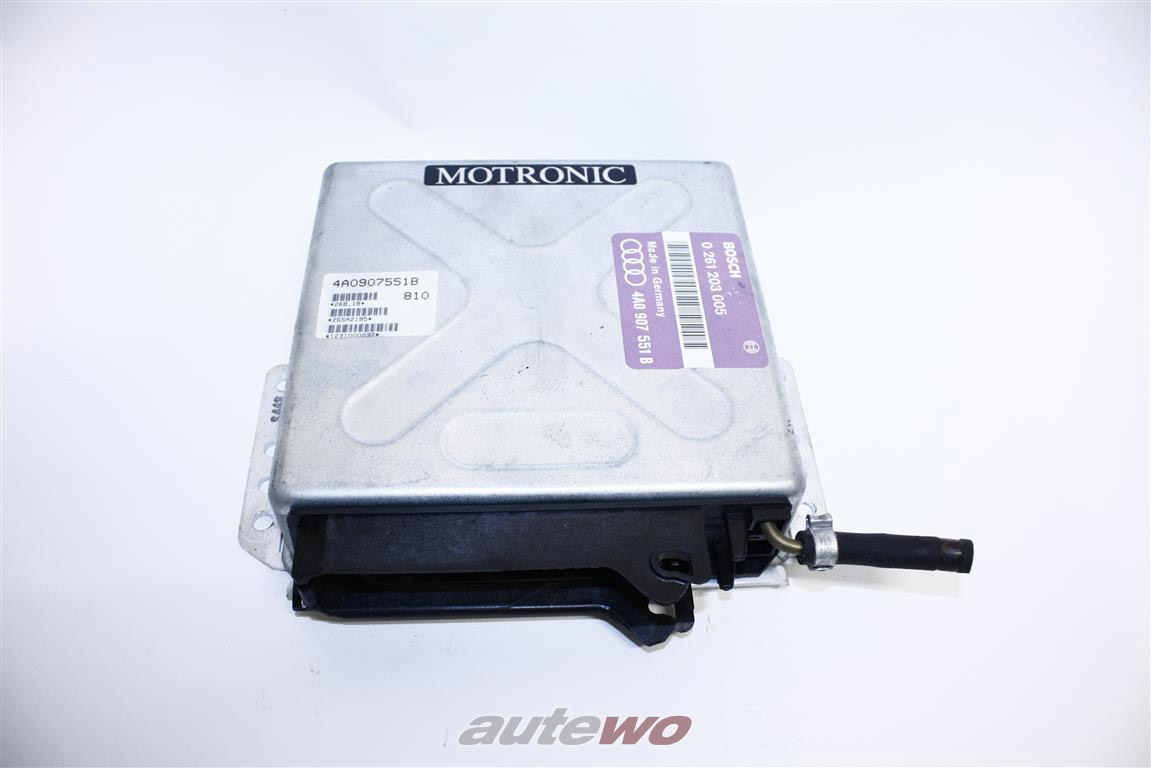 Audi S4/S6 C4 2.2l 20V Turbo Motorsteuergerät Motronic ungeöffnet 4A0997551AX 4A0907551B
