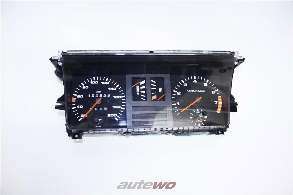 Audi 80 Typ 81/85 4 Zylinder Tacho/Kombiinstrument + ECON-Anzeige & Drehzahlmesser