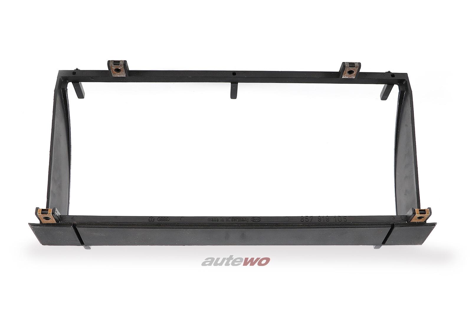 857919105 Audi 90/Coupe Typ 81/85/Urquattro Rahmen Instrument schwarz
