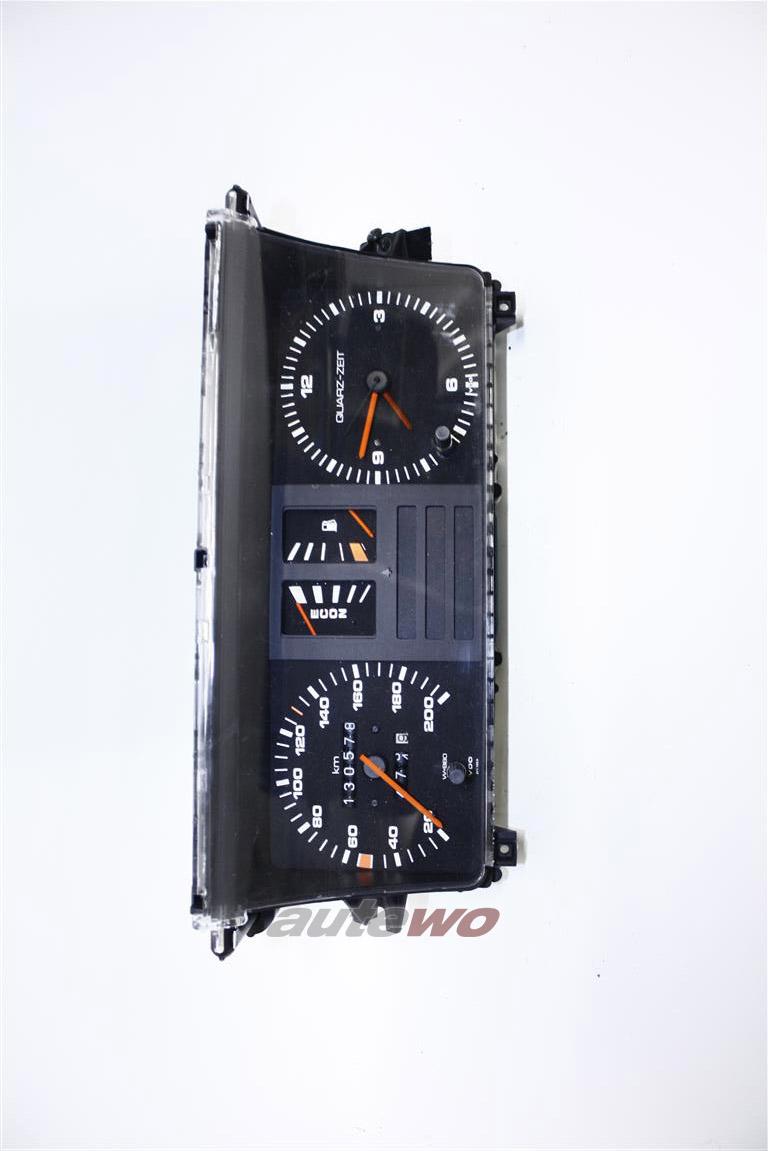 Audi 80/90 Typ 81/85 Tacho/Kombiinstrument mit Analoguhr & ECON-Anzeige W=980