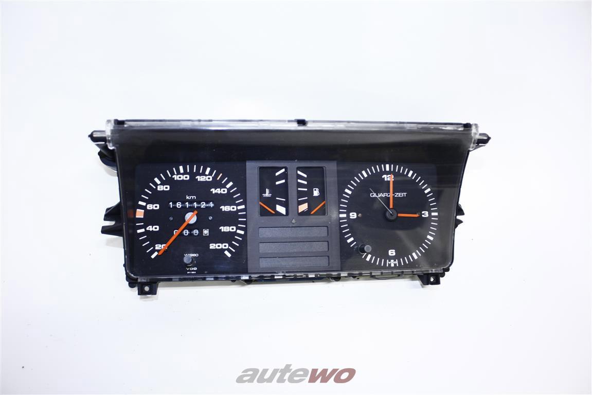 Audi 80/90 Typ 81/85 Tacho/Kombiinstrument + Analoguhr Tacho W=980