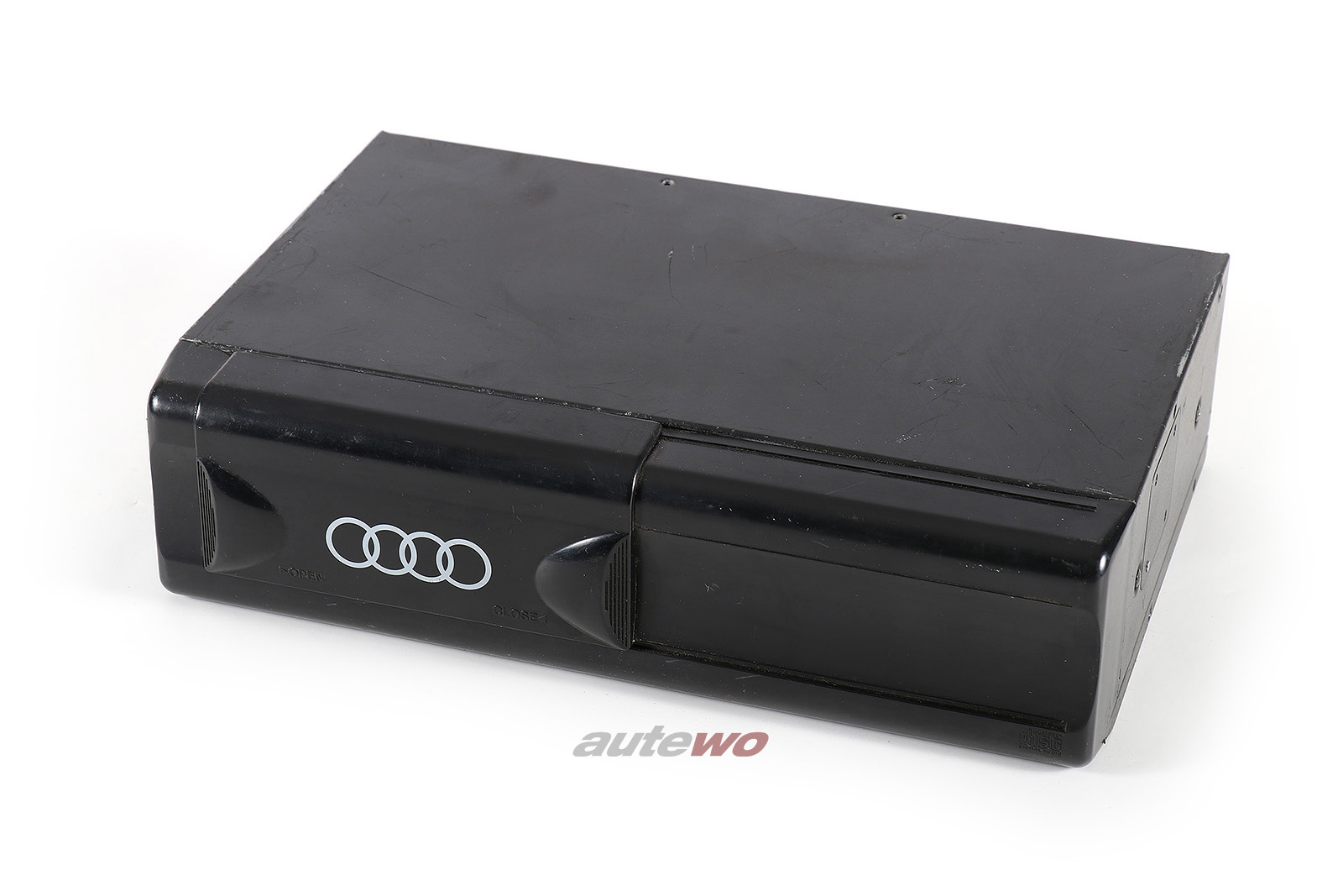 4D0035111 Audi 80 Typ 89 Cabrio/A4 B5/A6 C4/A8 D2 6-fach CD-Wechsler