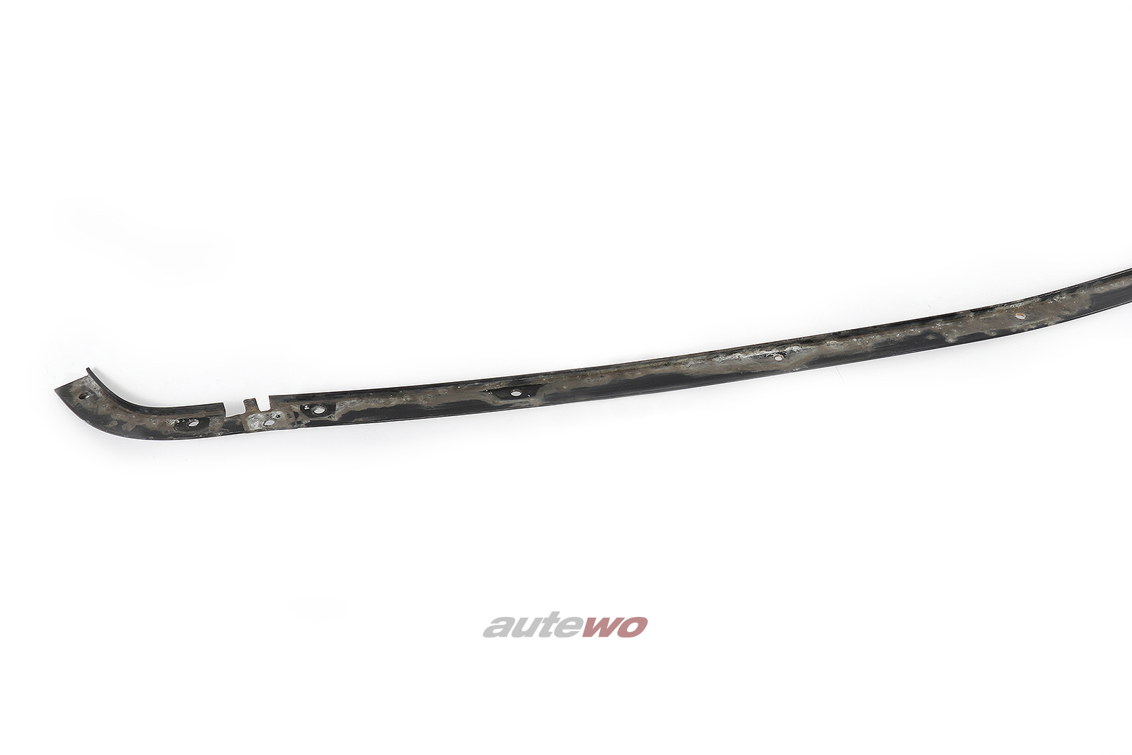 441805585D Audi V8 D11 Träger/Unterlage Zierleiste Vorne