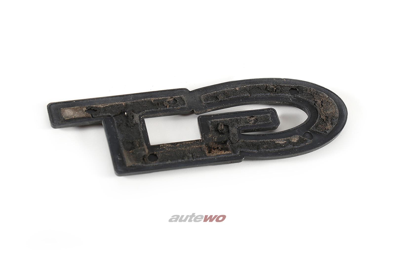 855853745 Audi 80/90/Coupe Typ 81/85 GT-Schriftzug Hinten