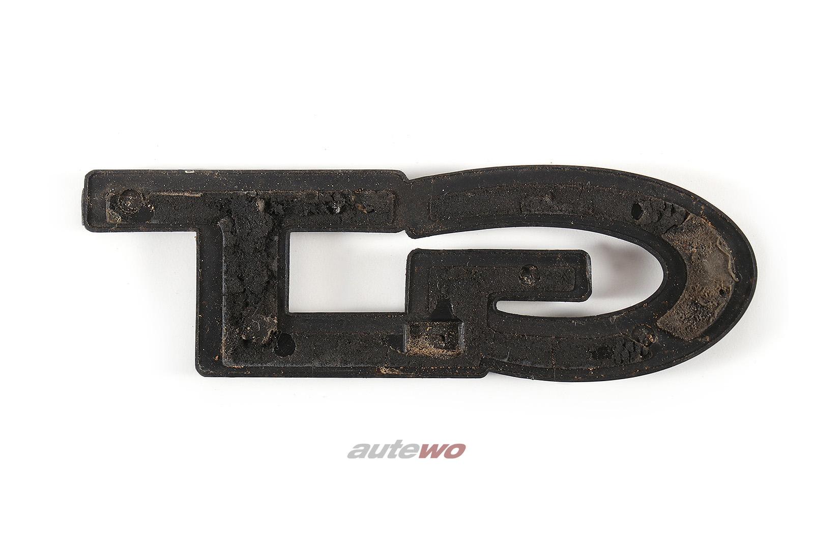 855853745 Audi 80/90/Coupe Typ 81 Schriftzug GT Hinten