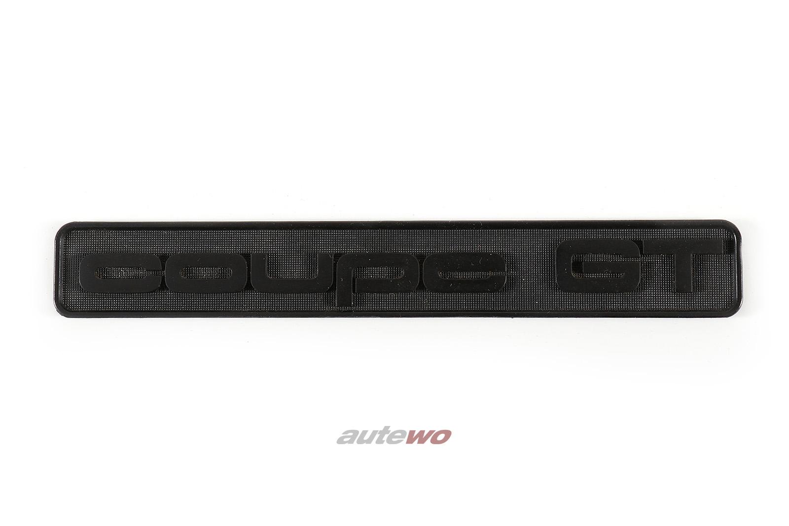 855853681 NEU Audi Coupe Typ 81 Schriftzug Coupe GT Armaturenbrett