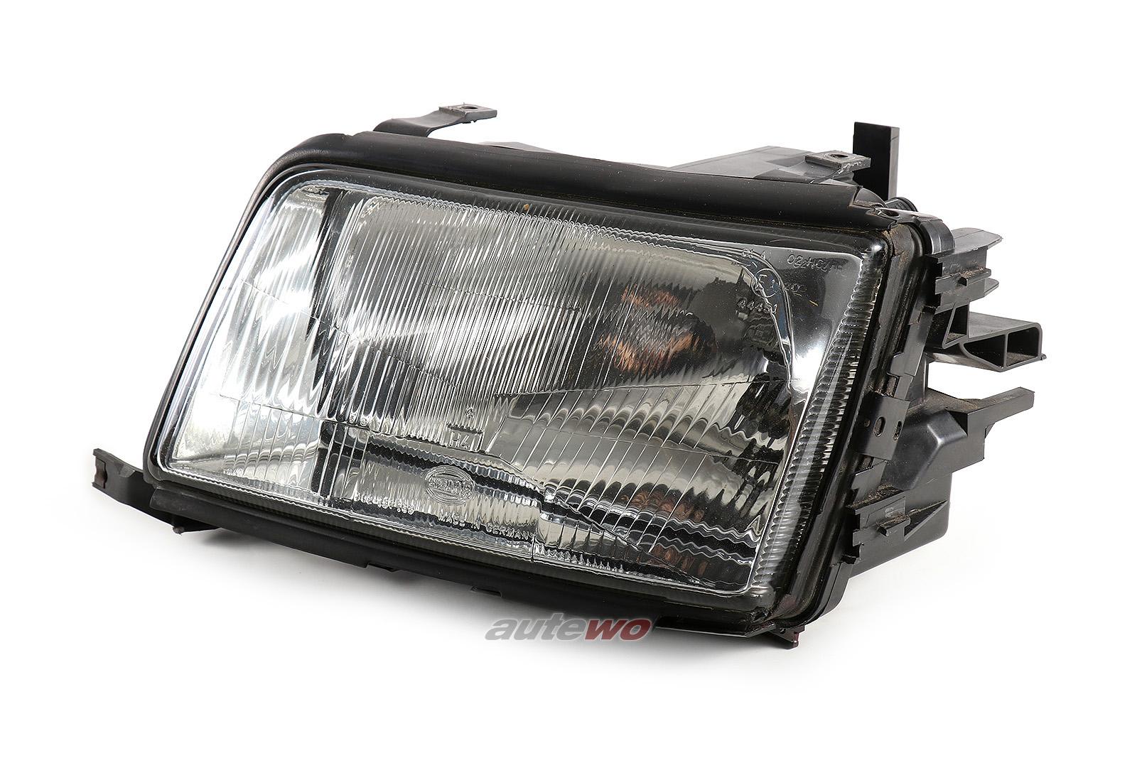 4A0941029 Hella 13797100 Audi 100 C4 Halogen-Scheinwerfer Links