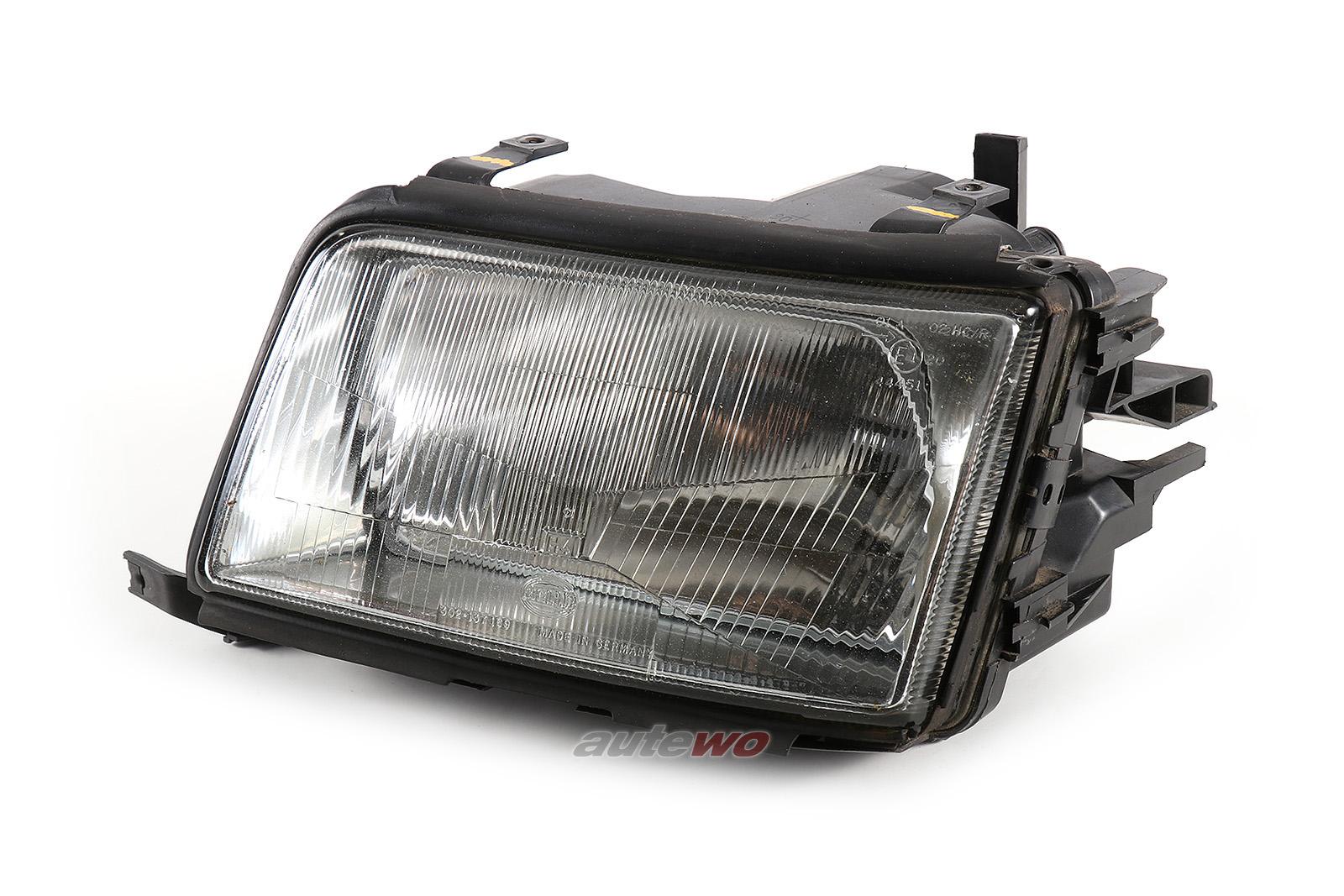 4A0941029 Hella 13797101 Audi 100 C4 Halogen-Scheinwerfer Links