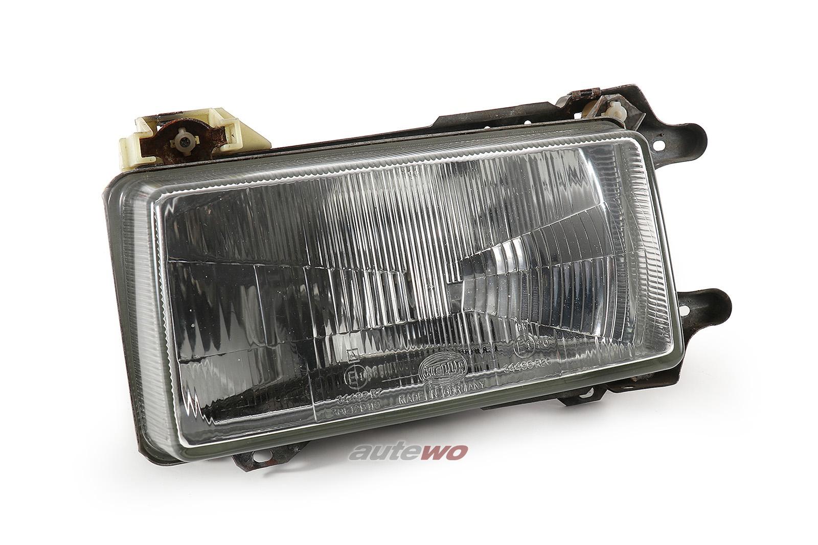811941029H/811941105G Hella 301-129119 Audi 80 Typ 81/85 Scheinwerfer Links