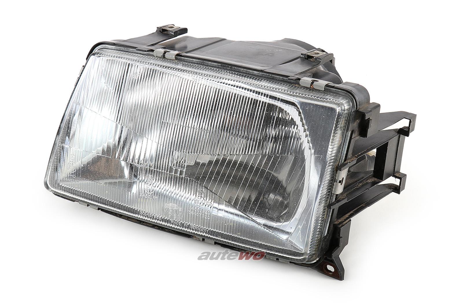 443941029E Hella 127 071-00 Audi 100 Typ 44 Halogenscheinwerfer Links