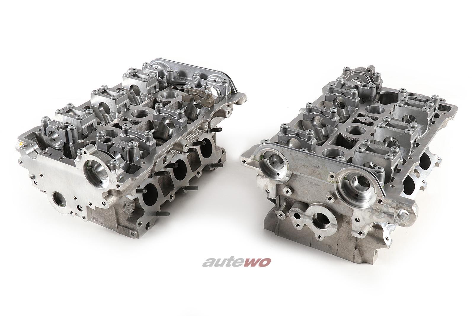 NEU Audi S4 B5/A6 2.7l Biturbo Set Zylinderköpfe NG Motorsports CNC-Bearbeitung