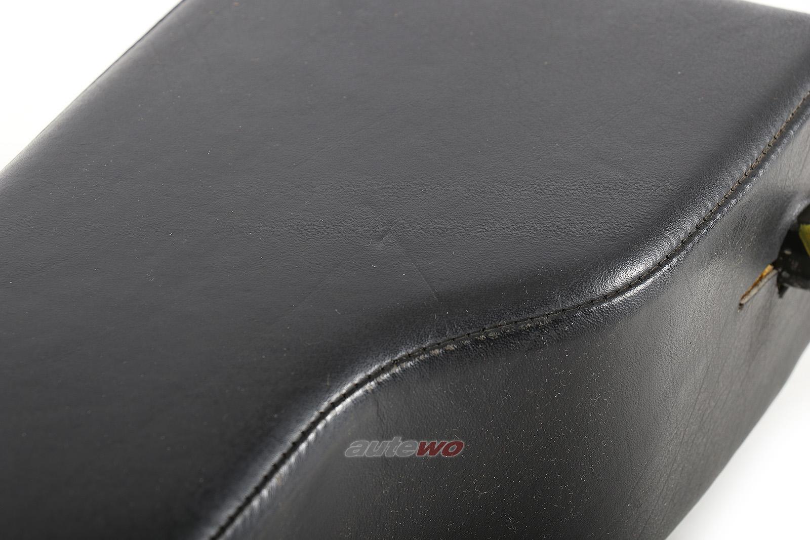 443881751B Audi 100/200 Typ 44/C4/V8 D11 Leder-Mittelarmlehne schwarz