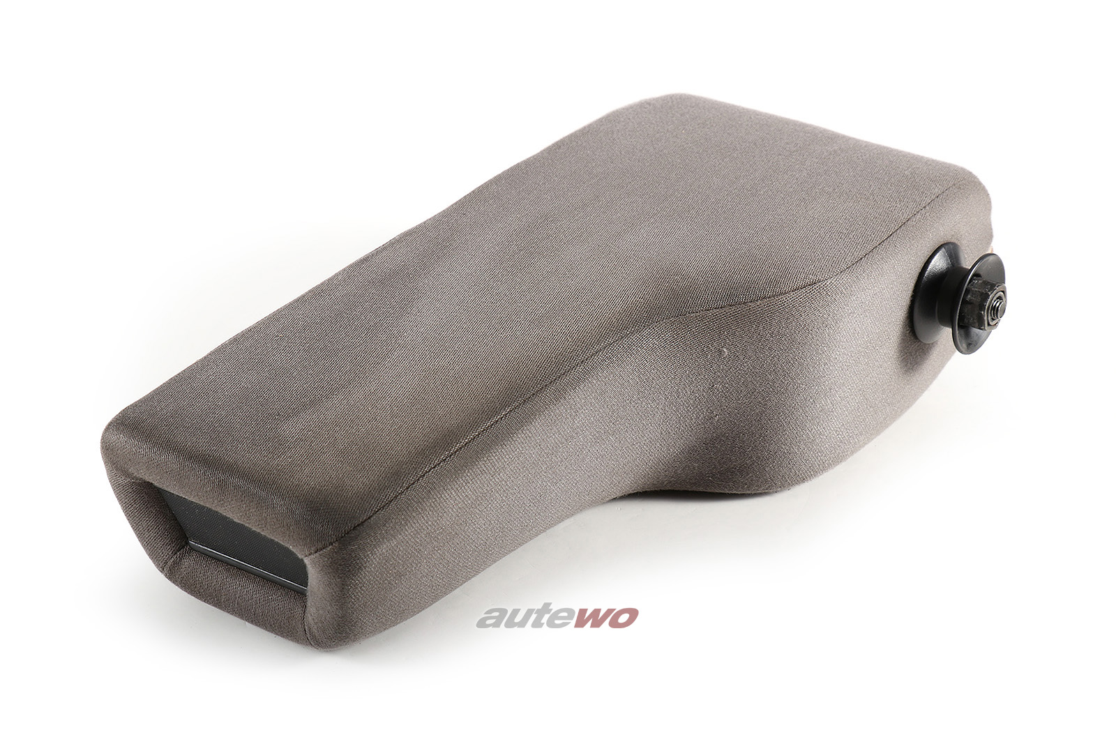 443881751K Audi 100/200 Typ 44/C4/V8 D11 Stoff-Mittelarmlehne Satin platin