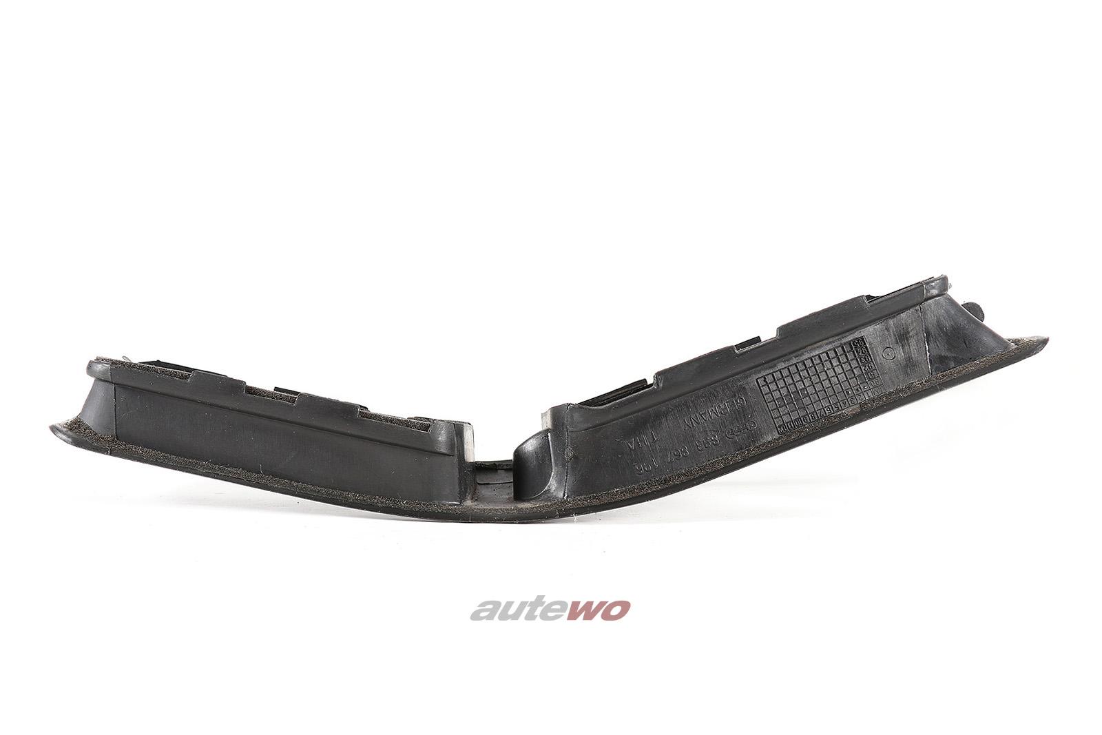 893867196 Audi 80/90 Typ 89/B4 Griffschale Unterteil Vorne Rechts 01C schwarz