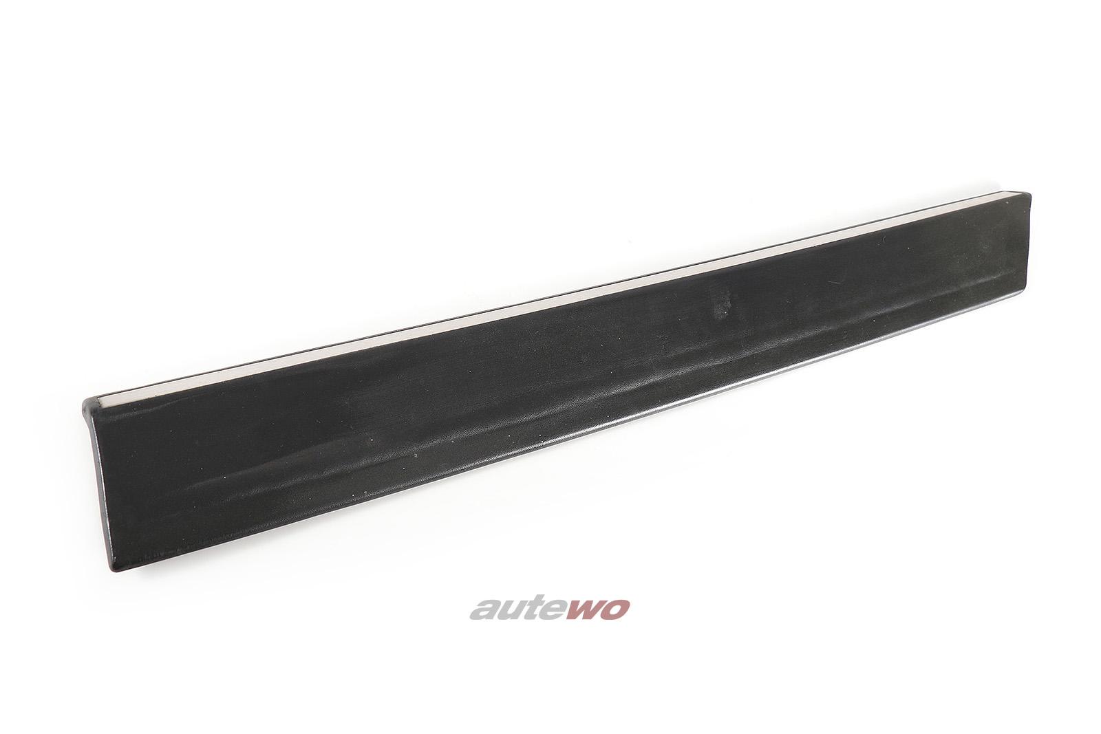 811853509E Audi Coupe Typ 81/85 Schutzleiste Seitenteil Hinten Links