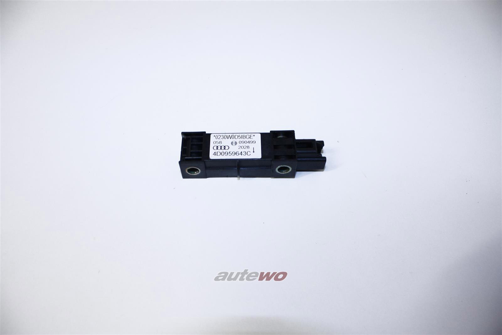 Audi A8/S8 D2 Crash-Sensor für Fzg. Mit Seitenairbag 4D0959643C