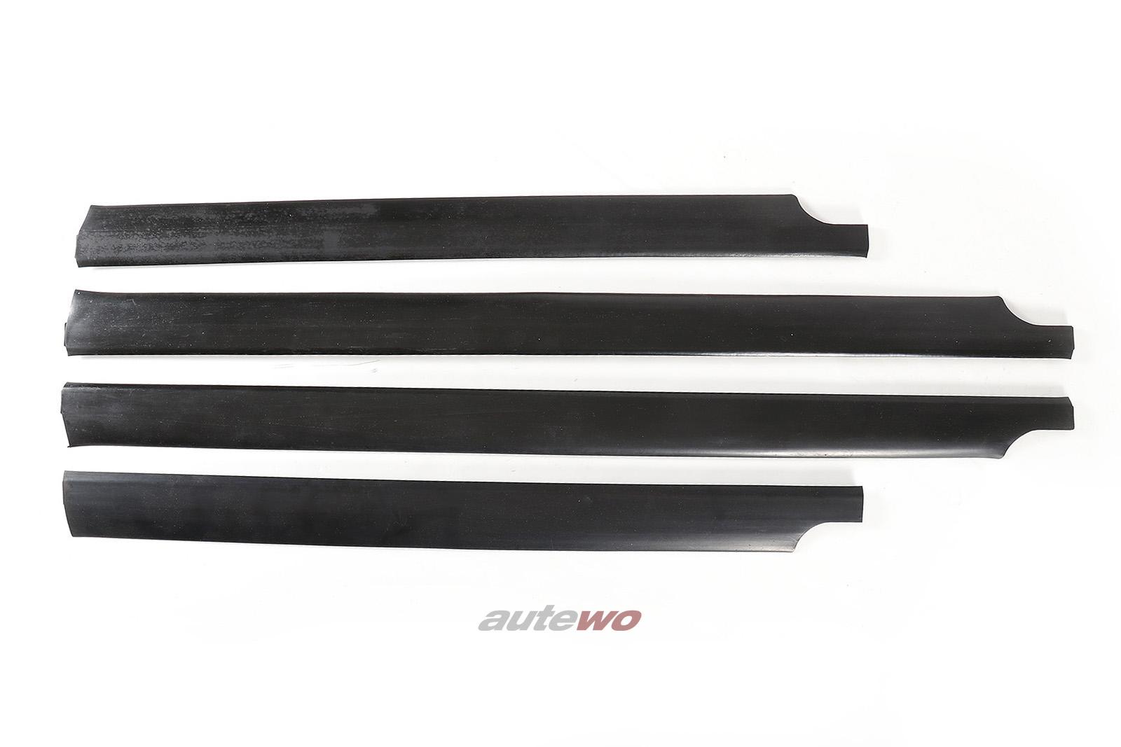 441853959A/960A/443853969D/970D Audi 100/200 Typ 44 Set Türabschlussleisten