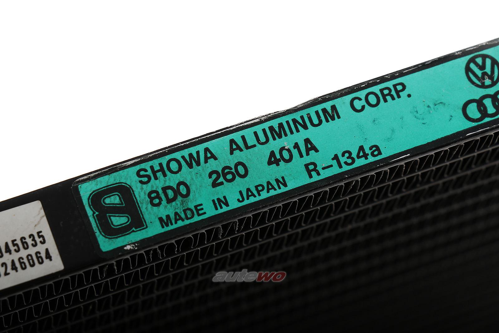 8D0260401A 8D0260403C Audi A4 B5 Klimakondensator