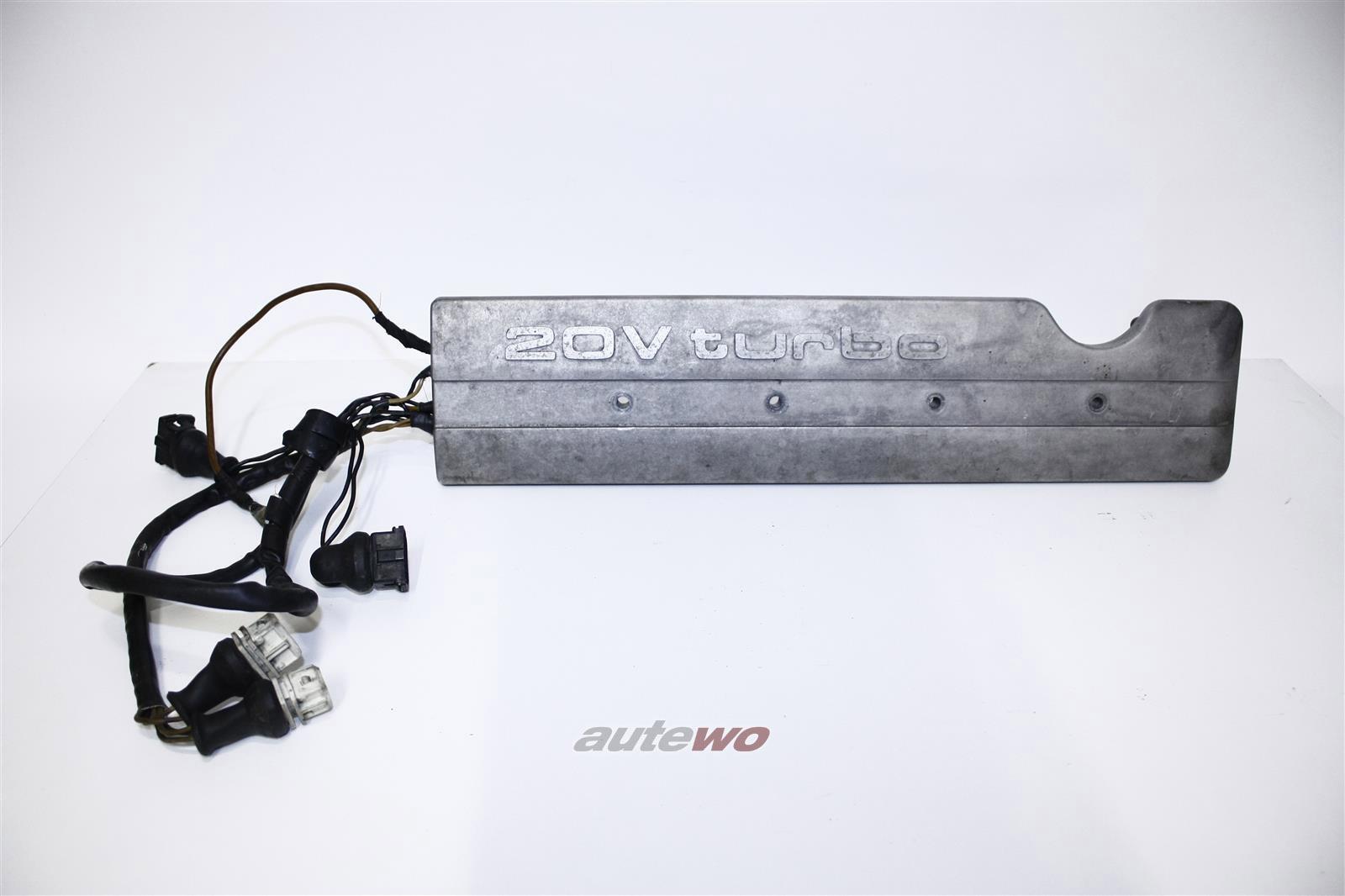 Audi S2/S4/S6 C4/RS2 2.2l 20V Turbo Einzelzündspulen-Leiste inkl. Abdeckung 034905101 & 034103724B