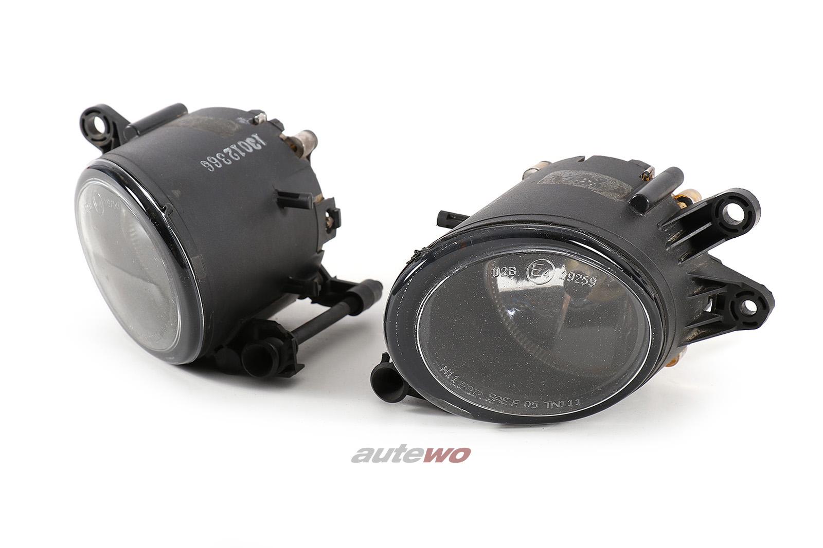 DJAuto Nebelscheinwerfer Paar für Audi A4/S4/RS4 8E B6/B7