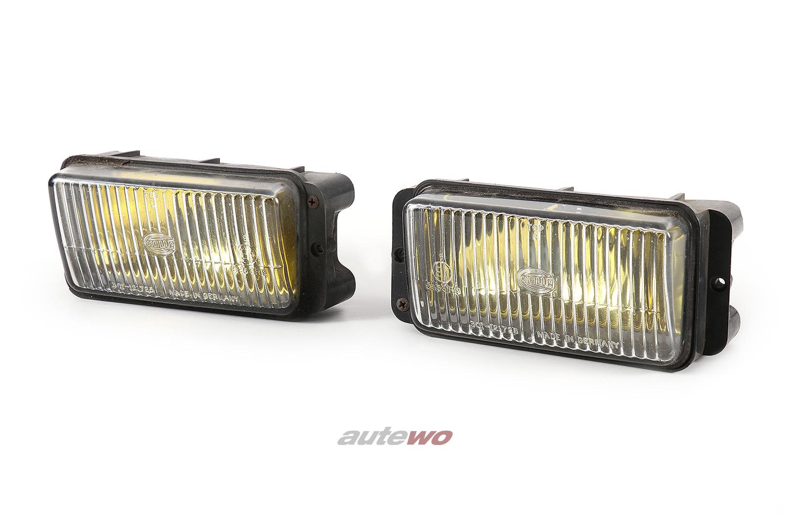 811941699D/811941700D Audi 80/90 Coupe Typ 81/85 Nebelscheinwerfer Paar gelb