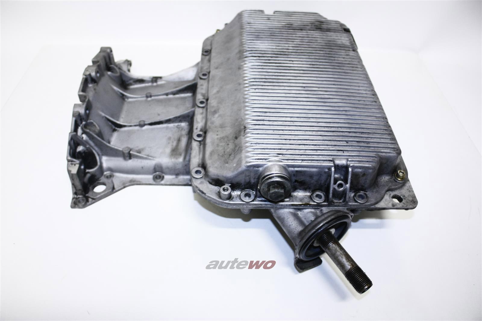 Audi 80 B4/100/A6 C4/A8 2.6-2.8l Alu-Ölwanne Ober- & Unterteil 078103603D & 0781
