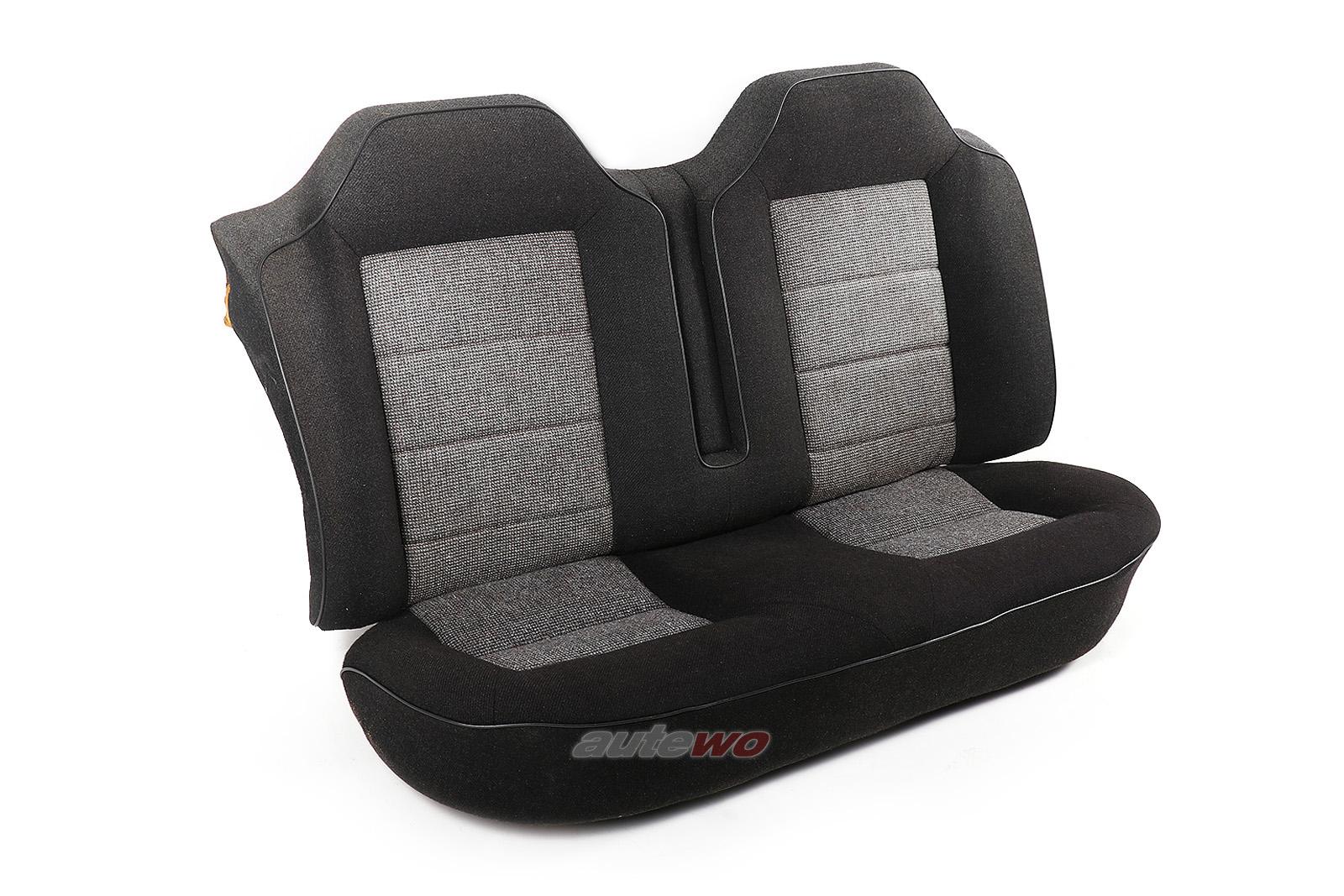 Audi Coupe Typ 85/Urquattro Stoff-Rücksitzbank Lehne & Sitzfläche