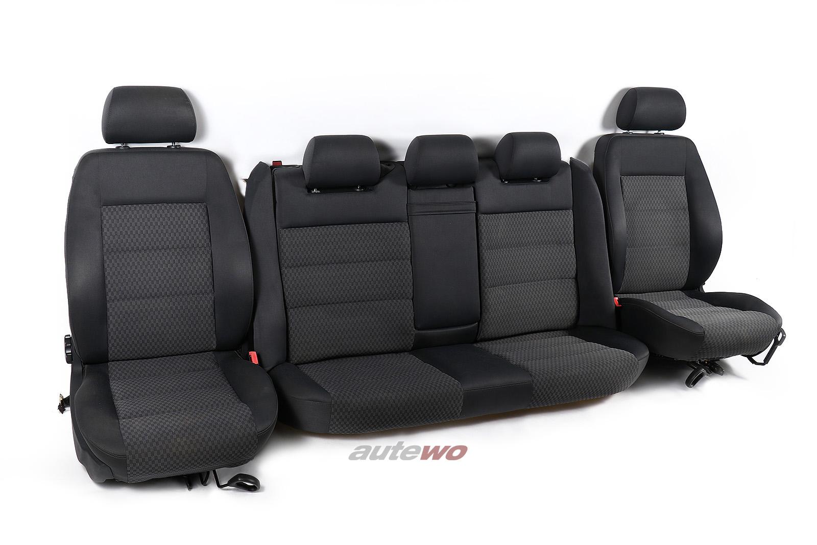 Audi A4 B5 Avant Stoff-Innenausstattung anthrazit