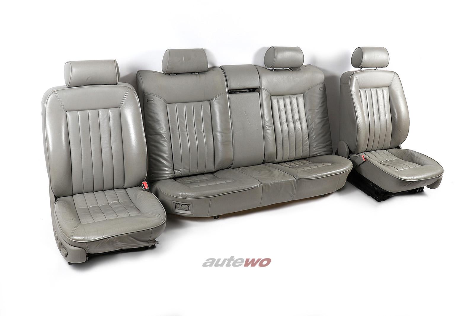 Audi A8 D2 Innenausstattung Sitze/Rückbank Memory-e-Sitz/4x Sitzheizung platin