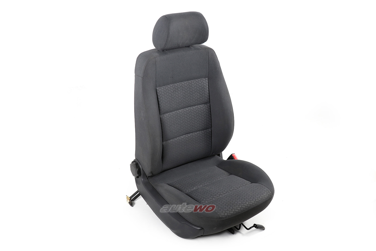 Audi A4 B5 Stoff-Beifahrersitz anthrazit