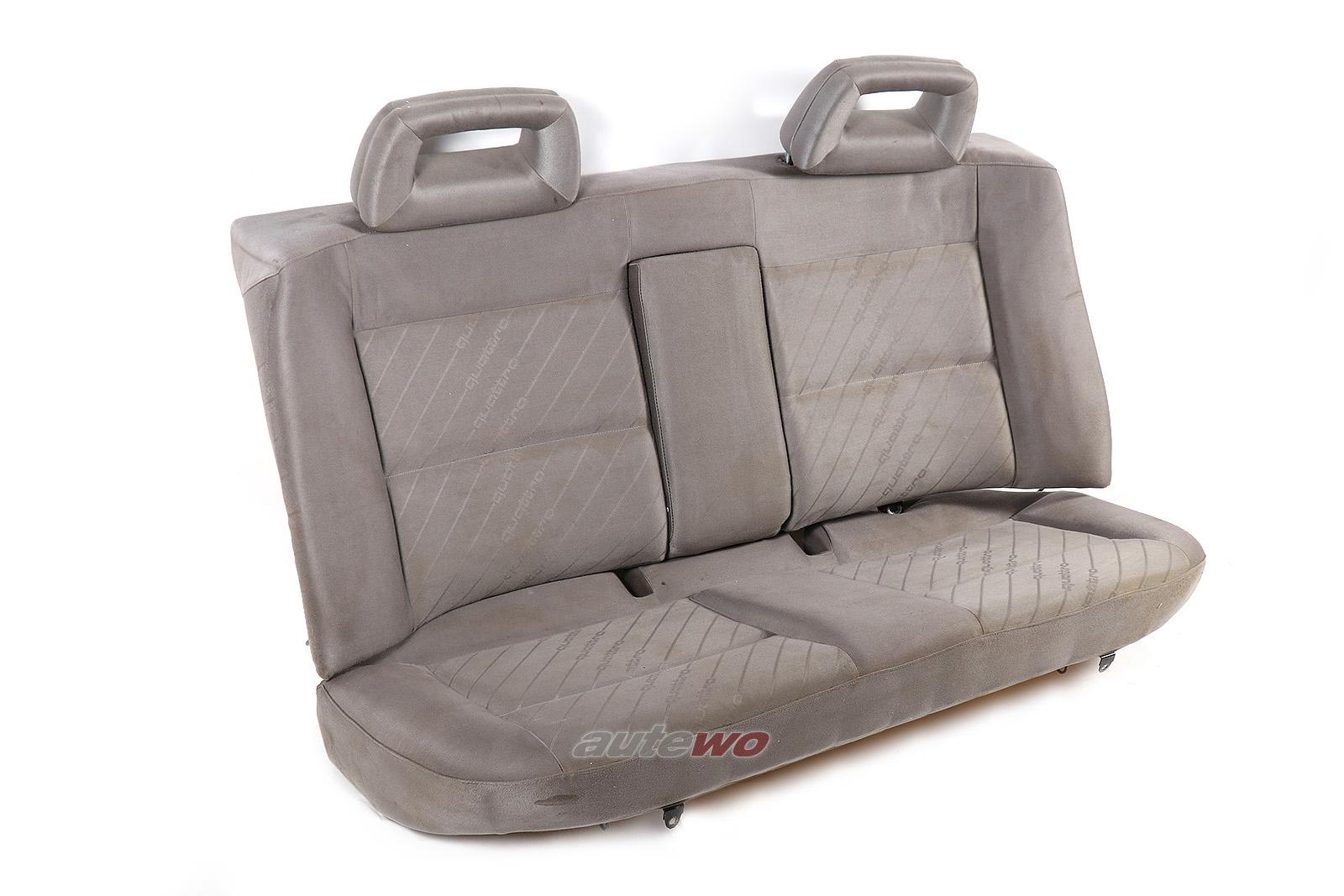 Audi 100/S4 C4 Limousine Rücksitzbank Quattro-Satin platin Sitzheizung hinten