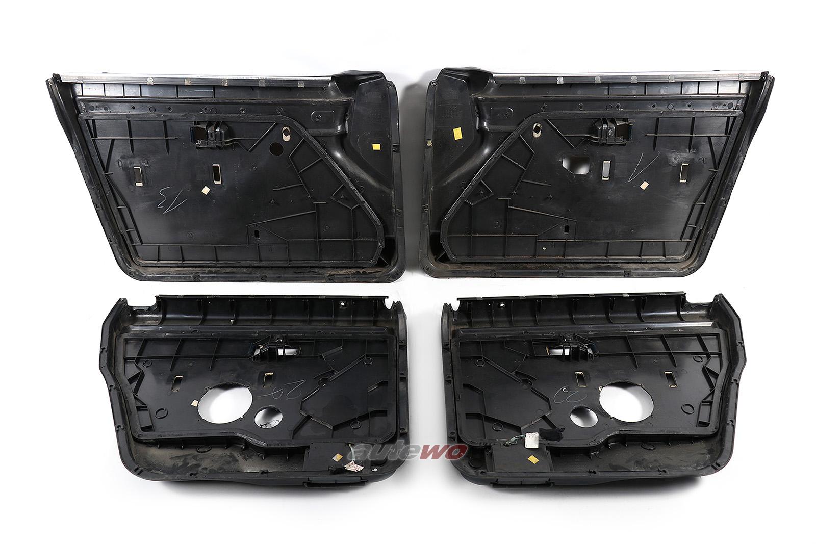 Audi 100/200 Typ 44 Türverkleidungen 4-fach elektrische Fensterheber marine