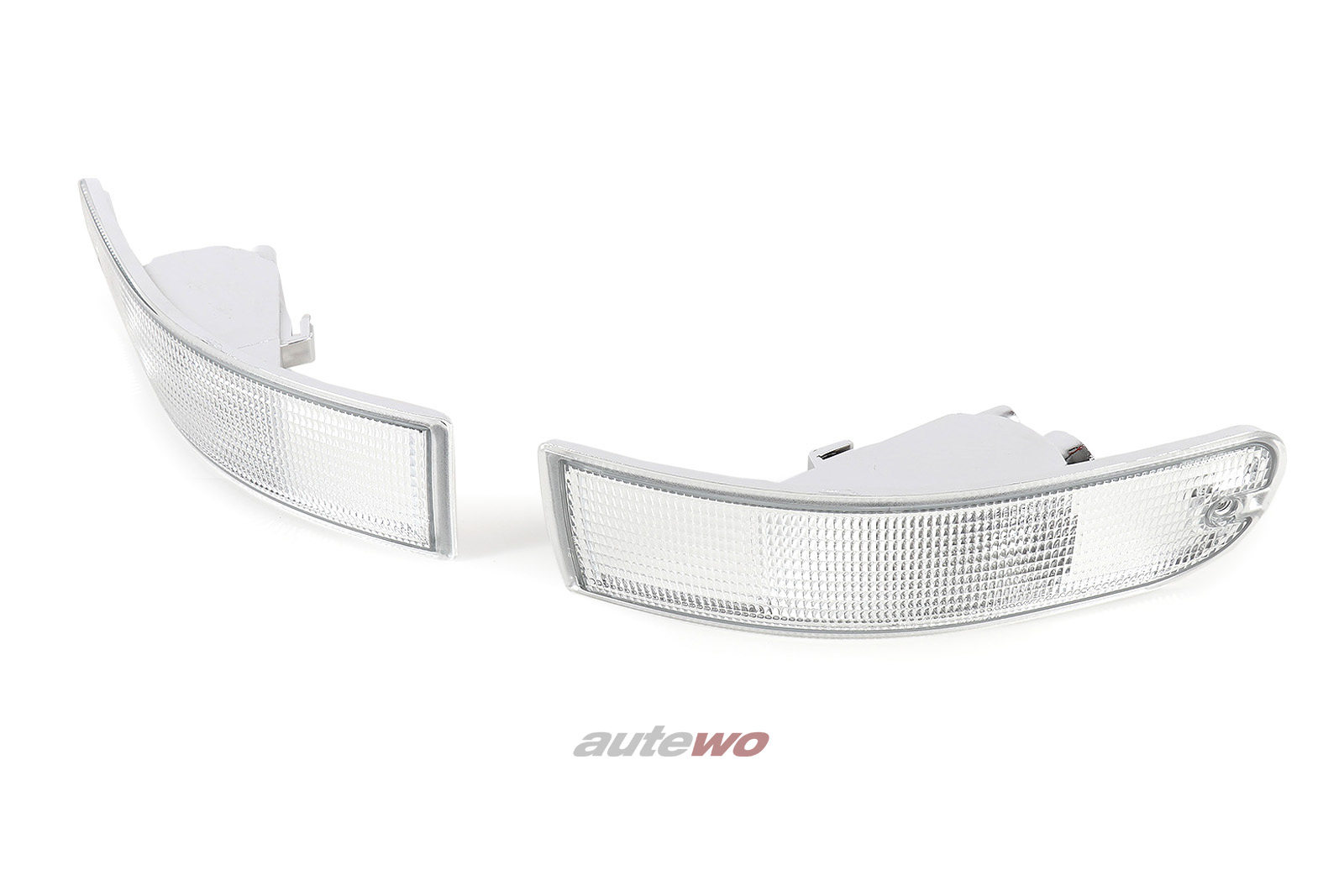 NEU Audi RS2 P1/80 Cabrio Typ 89 Blinker Paar weiß ersetzt 8G0953049/8G0953050