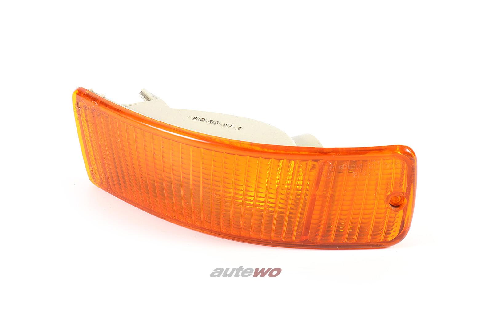 8A0953049A Audi 80 B4/Coupe/Cabrio Typ 89/S2 Blinker Vorne Links orange
