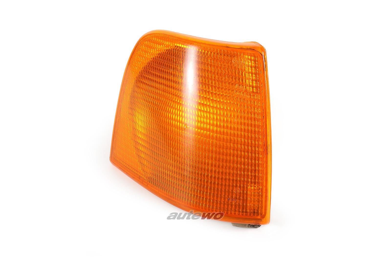 443953050E Audi 100 Typ 44 Blinker Hella Vorne Rechts orange