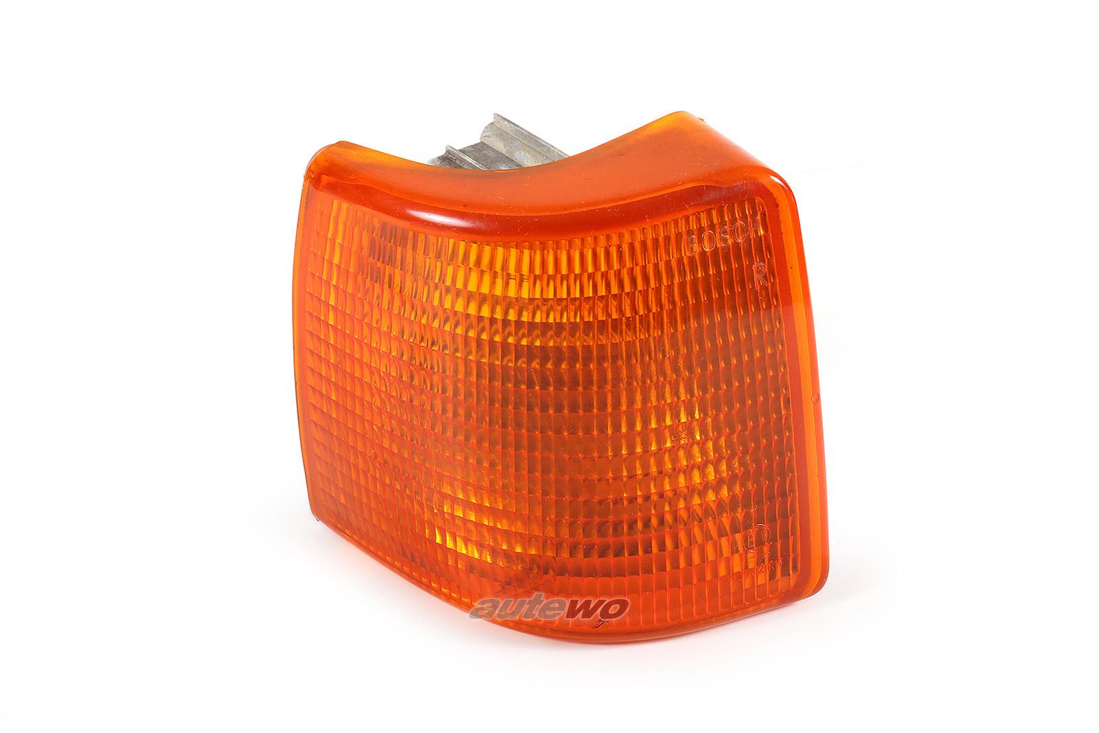 811953050F Audi 80 Typ 81/85 Blinker Bosch Vorne Rechts orange