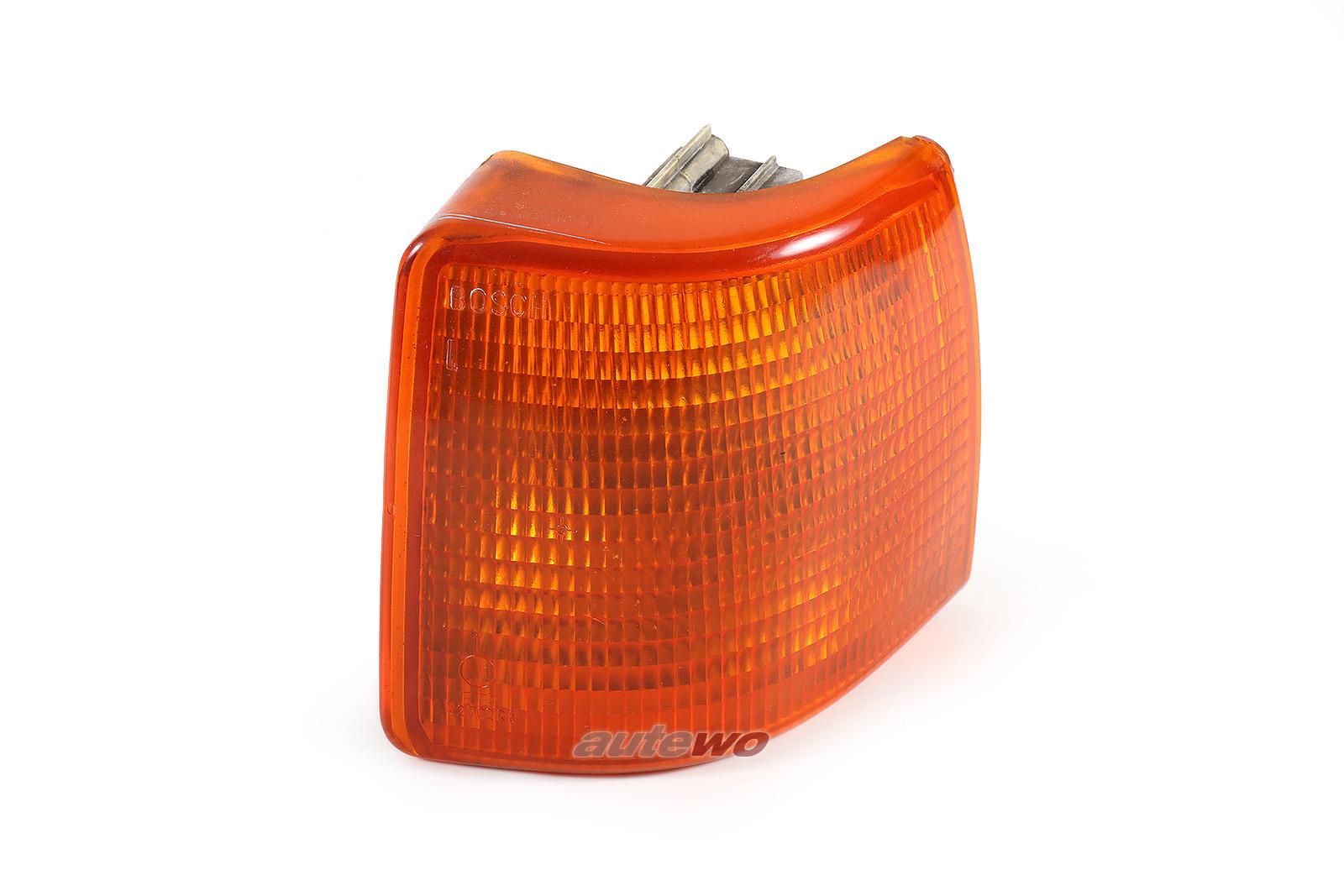 811953049F Audi 80 Typ 81/85 Blinker Bosch Vorne Links orange