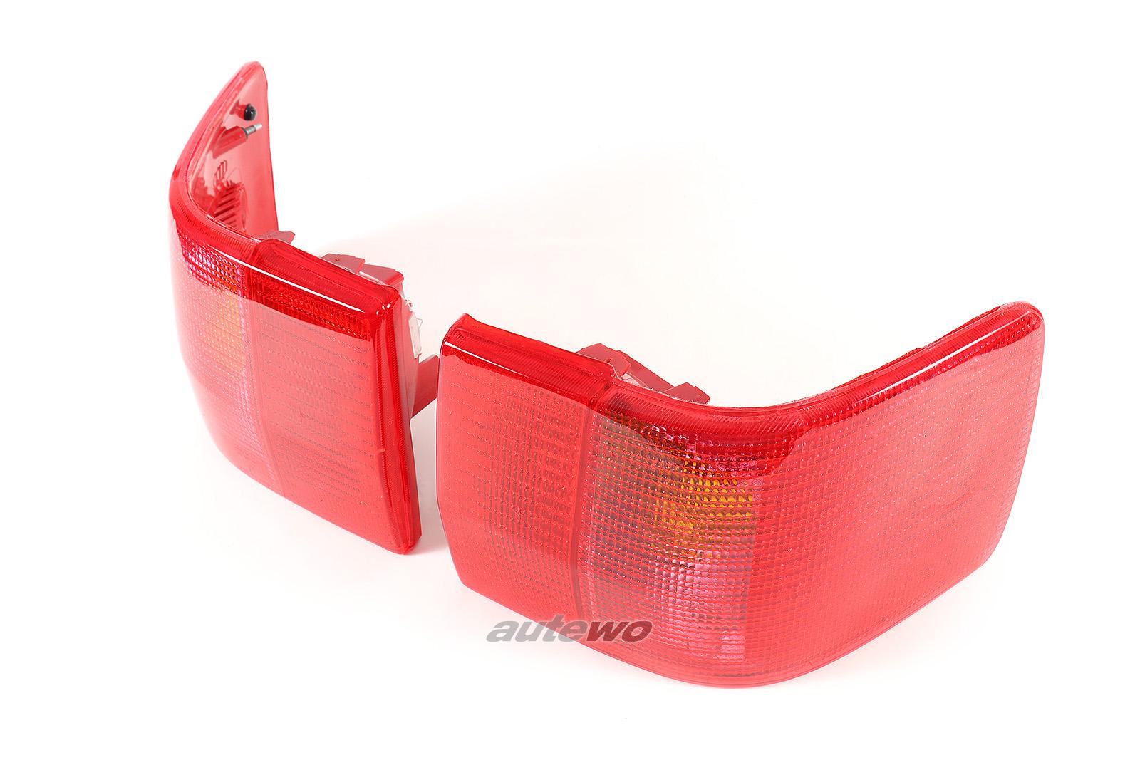 8A9945217/8A9945218 NEU Audi 80/90 Typ 89/B4/S2/RS2 Rückleuchten-Paar rot