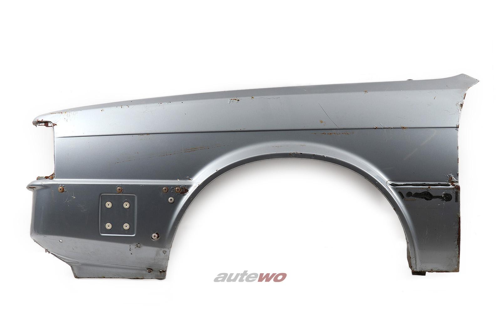 855821021K Audi 90/Coupe Typ 81/85 Kotflügel Vorne Links silber